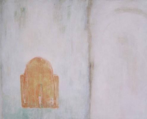 Kuba blanche, 1995, Huile sur toile 130 x 97