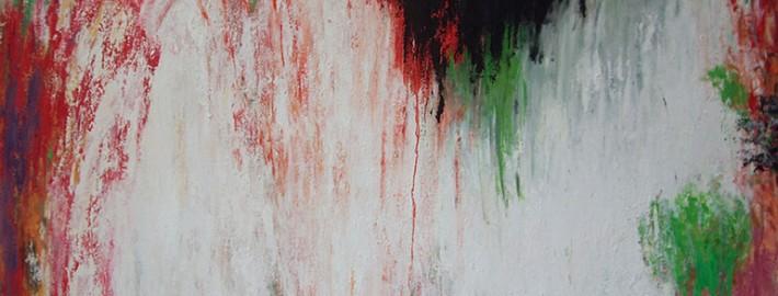Circulation #7, 2012, Huile sur toile, 195 x 130 cm