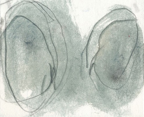 Arbre et circulation #1, 2010, 20 x 15 cm